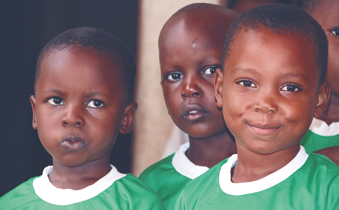 Bimbi nigeriani Holy Angels School Misolida